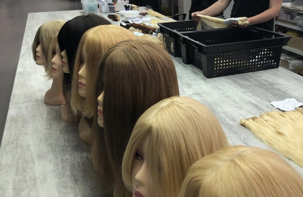 Wigs Ambre 12 and DB4 Color GVA hair - GVA hair