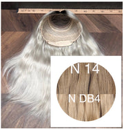 Wigs Ambre 14 and DB4 Color GVA hair - GVA hair
