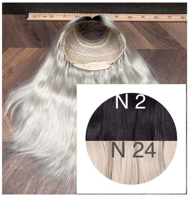 Wigs Ambre 2 and 24 Color GVA hair - GVA hair