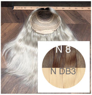 Wigs Ambre 8 and DB3 Color GVA hair - GVA hair
