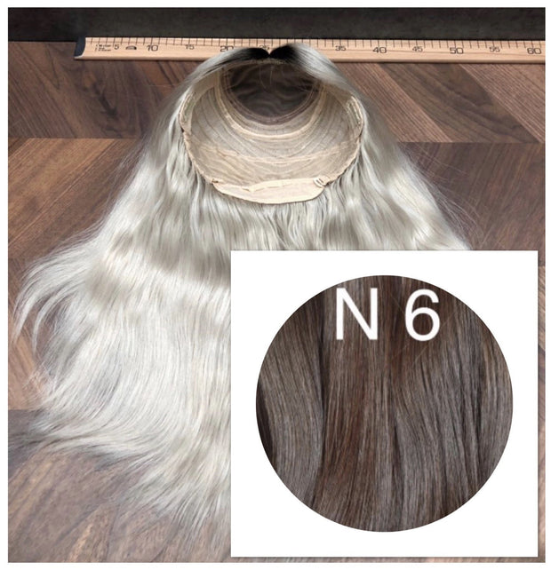 Wigs Color 6 GVA hair - GVA hair