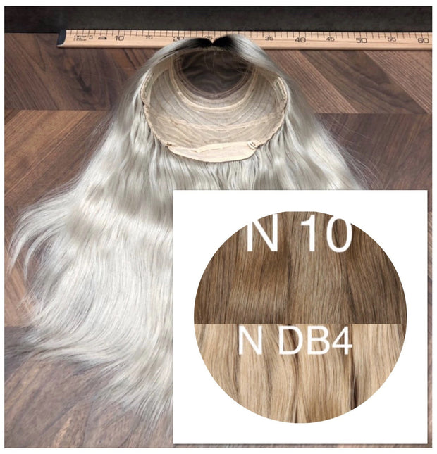 Wigs Ombre 10 and DB4 Color GVA hair_Retail price - GVA hair