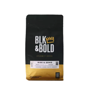BLK & Bold - Rise & GRND Medium Roast Ground Coffee