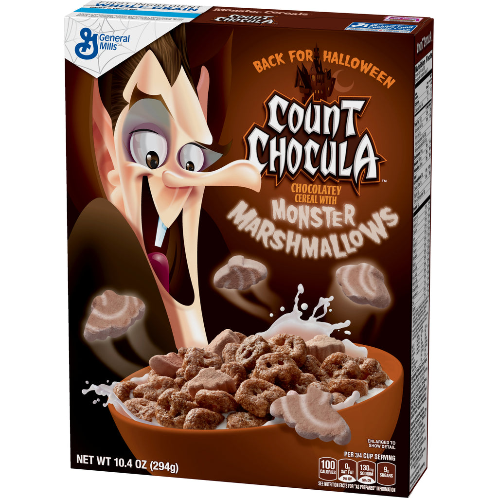 General Mills Count Chocula Cereal