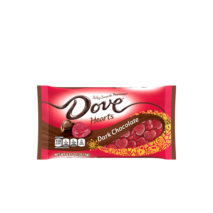 Dove Valentine's Hearts - Dark Chocolate