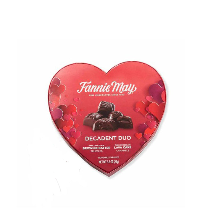 Fannie Mae Valentine's Dark Chocolate Decadent Duo