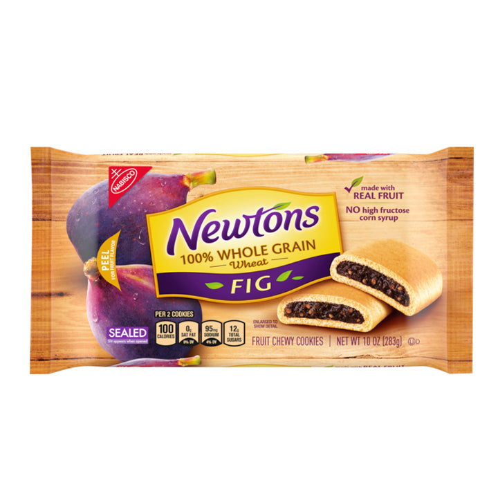 Newtons Fig Fruit Chewy Cookies