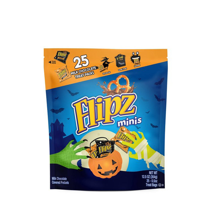 Flipz Minis Chocolate Covered Pretzels Treat Bags