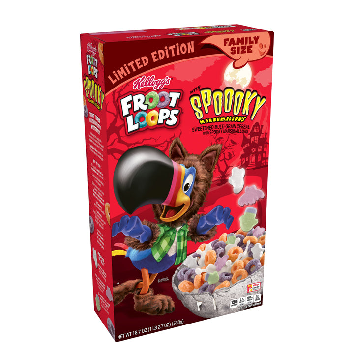 Froot Loops - Spooky Marshmallows Cereal