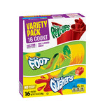 Fruit Rollups / Fruit by the Foot / Fruit Gushers - Variety Pack
