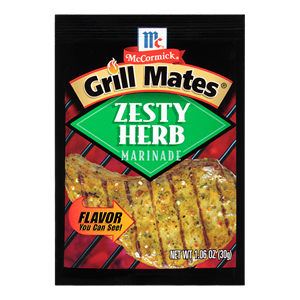 McCormick's Grill Mates Zesty Herb Marinade Mix
