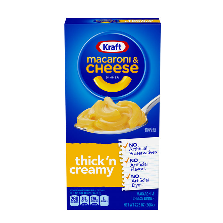 Kraft Mac and Cheese - Thick and Creamy