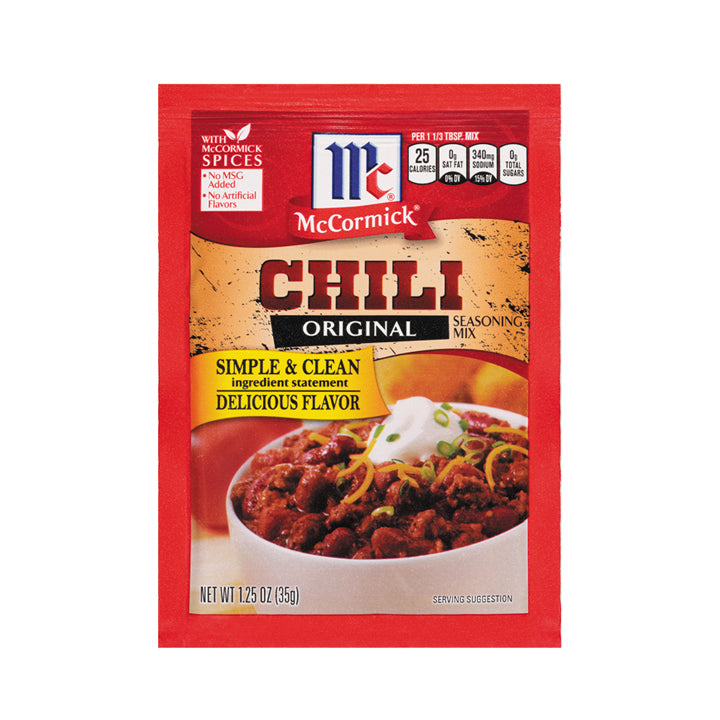 McCormick Chili Seasoning
