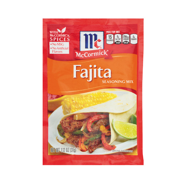 McCormick Fajitas Seasoning Mix