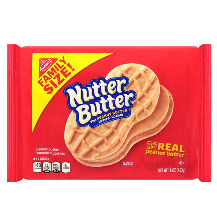 Nabisco Nutter Butter - Family Size