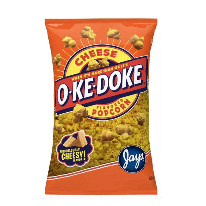 O-Ke-Doke Cheese Flavored Popcorn