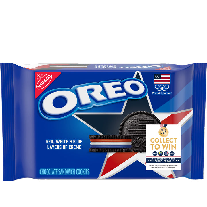 Oreo Team USA Limited Edition Cookies