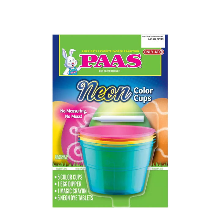 Paas Neon Color Cups