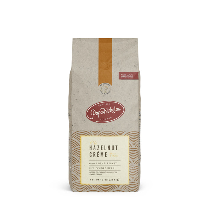 Papa Nicholas Coffee - Hazelnut Creme Ground Decaf
