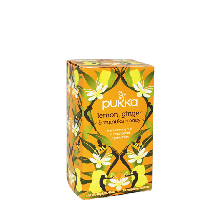 Pukka Tea - Lemon, Ginger and Manuka Honey