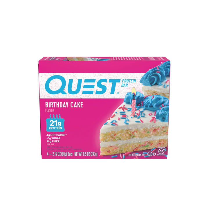 Quest Bar - Birthday Cake