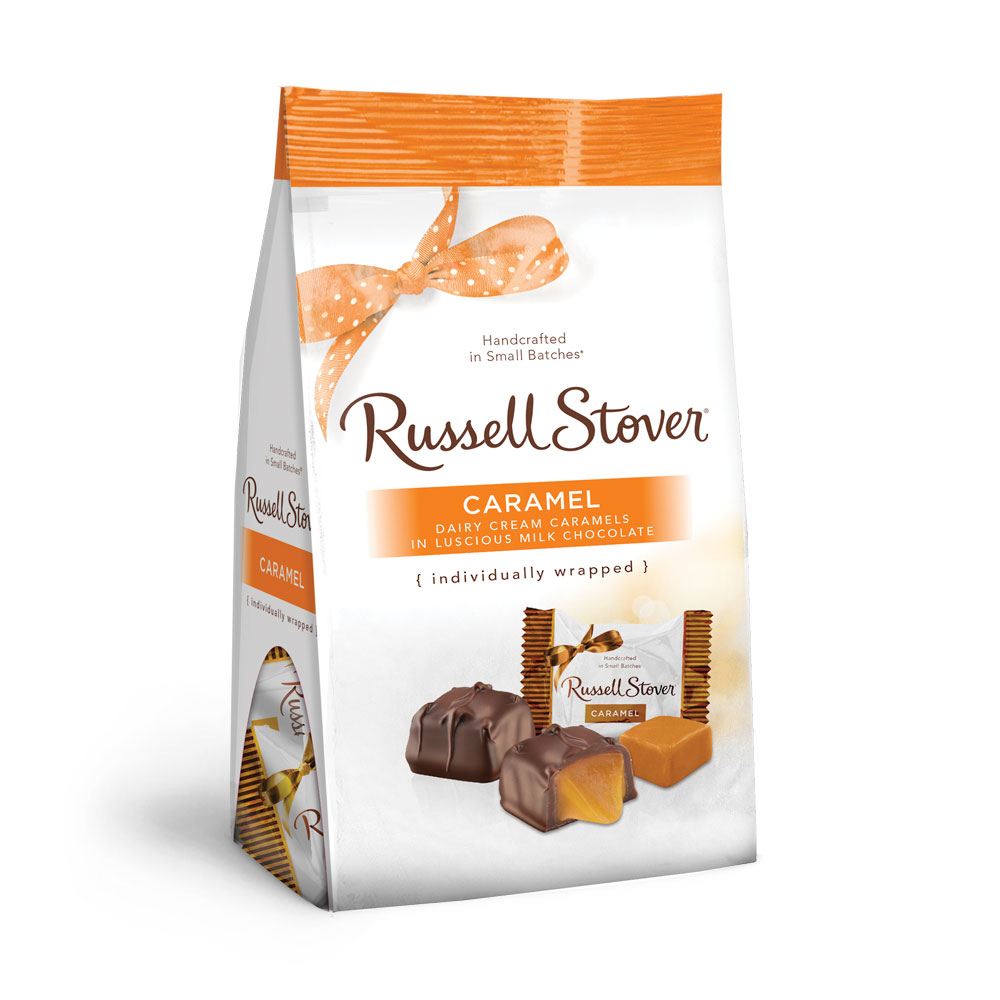 Russell Stover's Caramel Chocolate