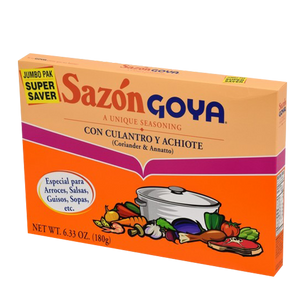 Sazon Goya -  Coriander and Annatto 6.33 oz.