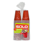SOLO Square Red Party Cup - 72 count