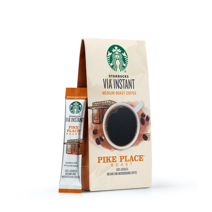 Starbucks Via Instant Pike Place Coffee Packets