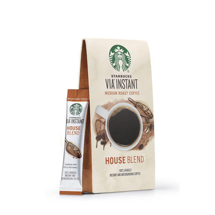 Starbucks Via Instant House Blend Coffee Packets