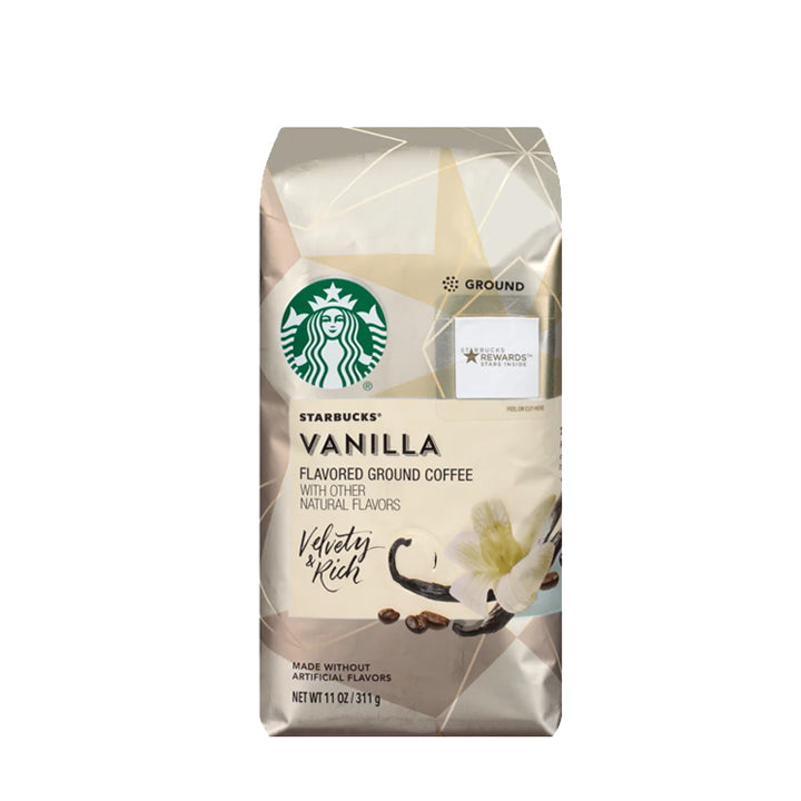 Starbucks Ground Coffee - Vanilla