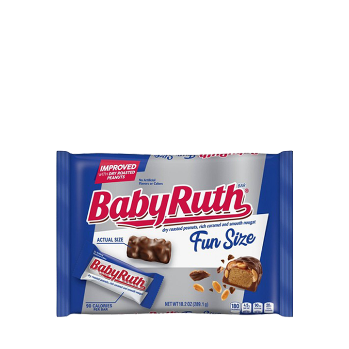 Baby Ruth Chocolate Candy Bar - Fun Size
