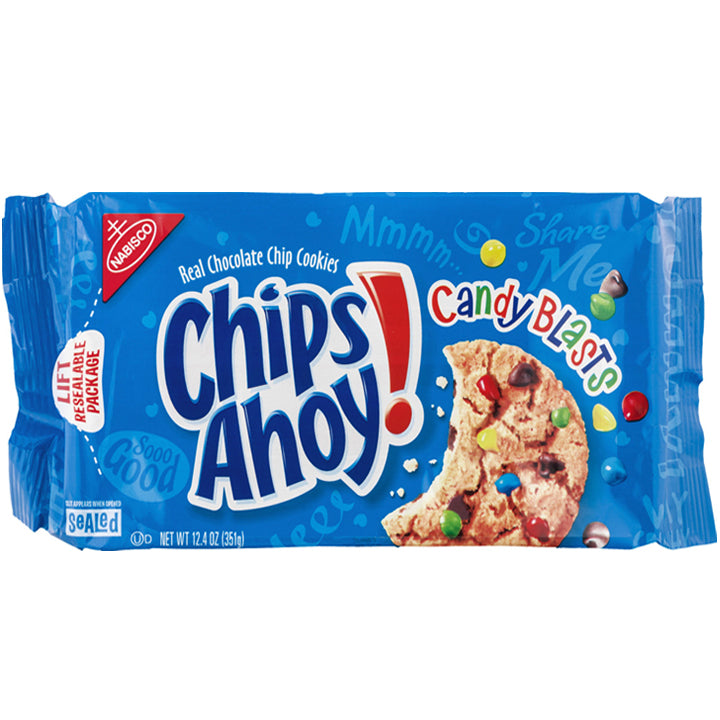 Chips Ahoy! - Candy Blasts Chocolate Chip Cookies