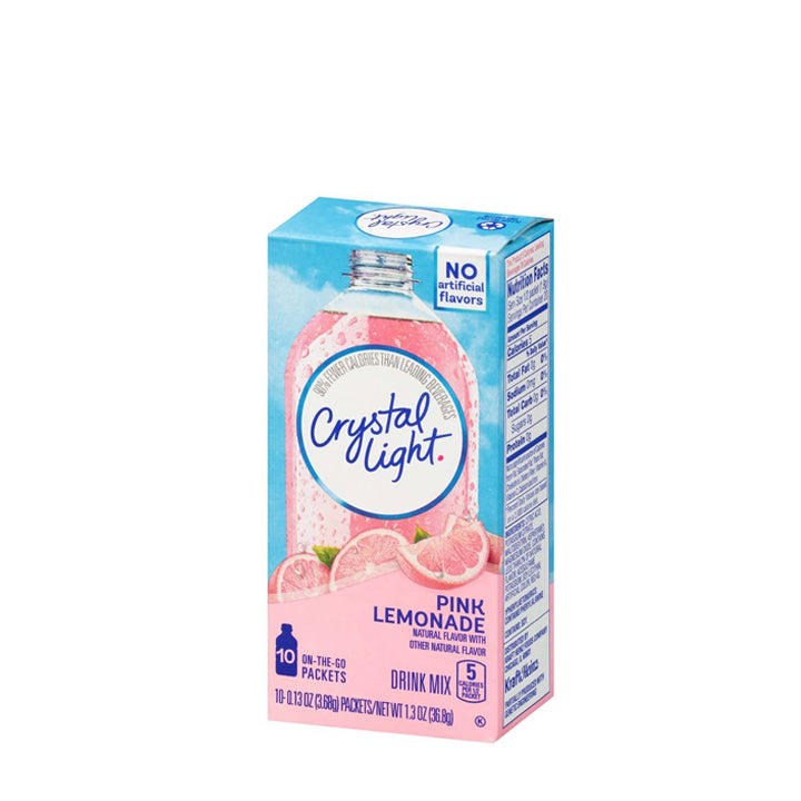 Crystal Light On-The-Go Drink Mix - Pink Lemonade