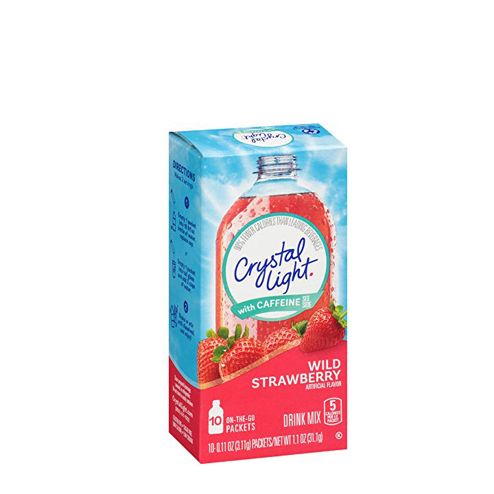 Crystal Light On-The-Go Drink Mix - Wild Strawberry