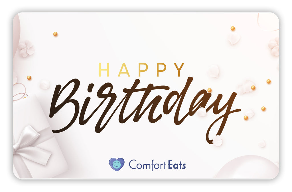 Comfort Eats Birthday gift card