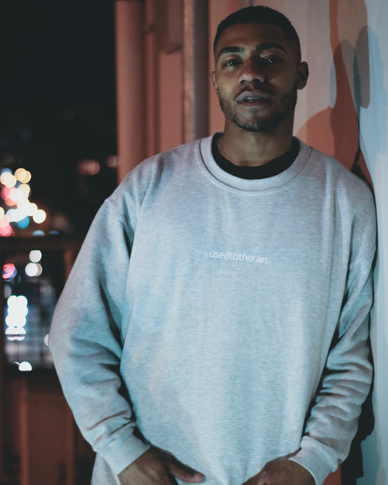 BASICS CREWNECK GREY