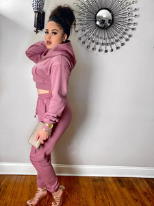 Princess Cindhy Two Piece Hoody Set