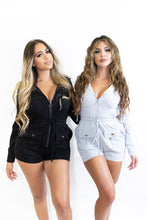 Load image into Gallery viewer, Did Us Well Hoodie Romper
