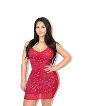 Load image into Gallery viewer, Shine Baby Rhinestone Dress