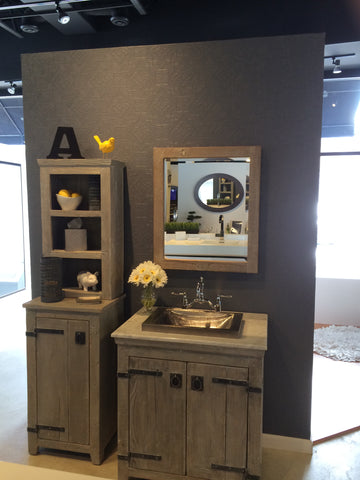 Kohler distressed vanities - very hot!