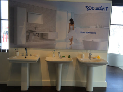 Duravit Pedestal Sink Options