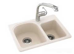 Swanstone space saver sink, KSDB-2518-059