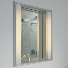 Robern Reception Lighted Mirror MPR30D4KSAB-21