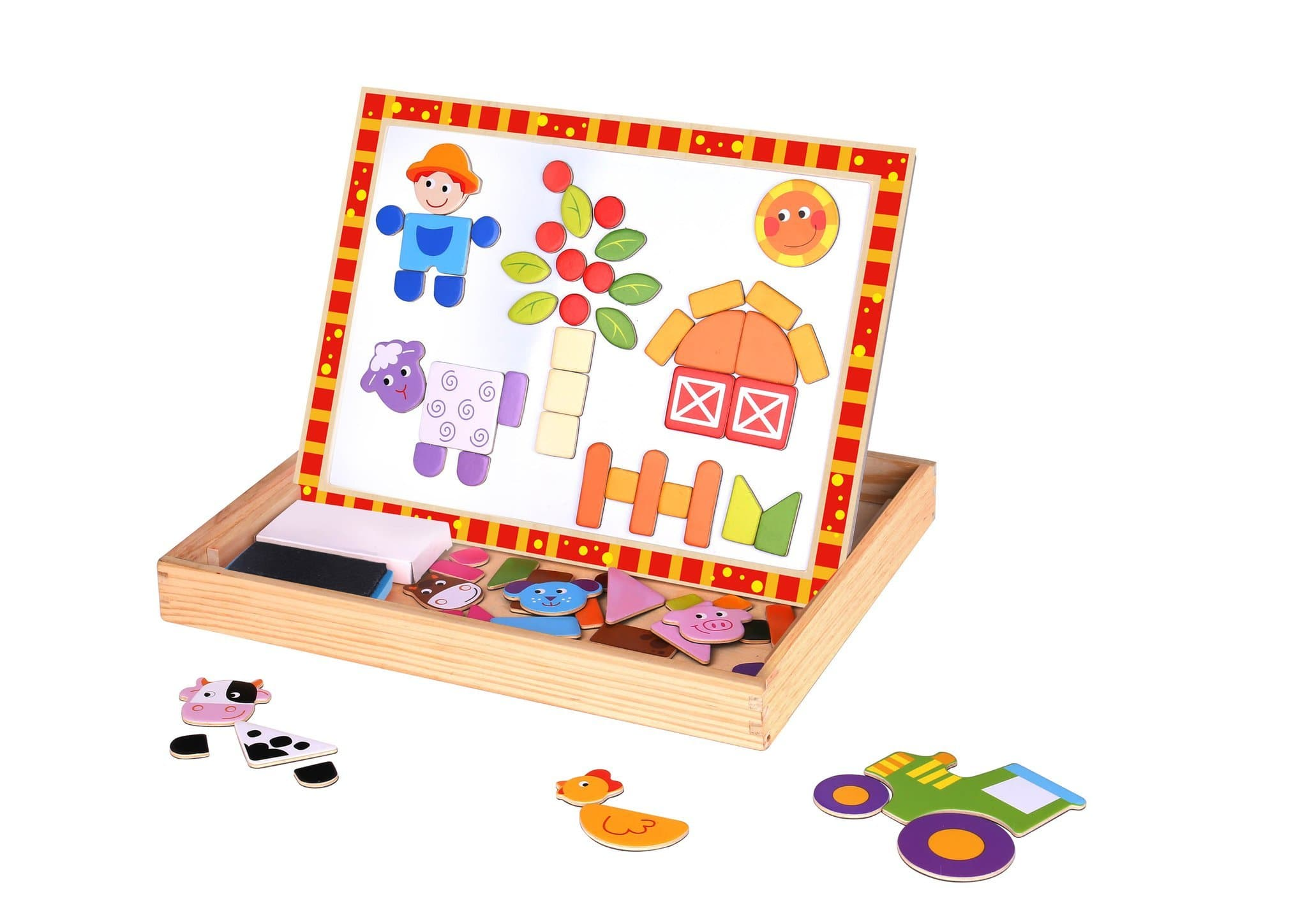 Magnetic Puzzle Farm