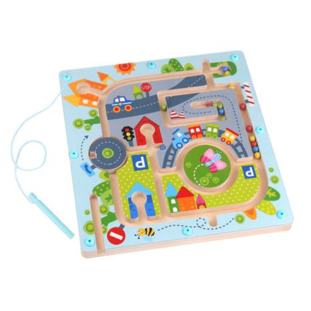 City Maze Magnetic Developmental STEM Game