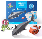 3D Paper Models - Marine Animals