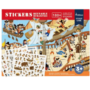Reusable Scene Stick Ons