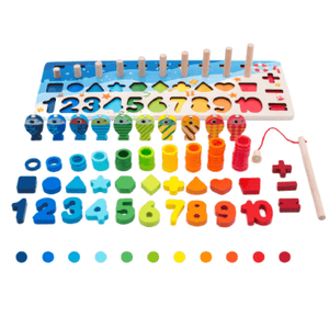 Wooden Puzzle - Matching Sorter Games