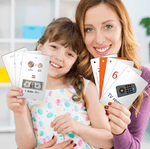 Learning Math Concepts Flash Cards